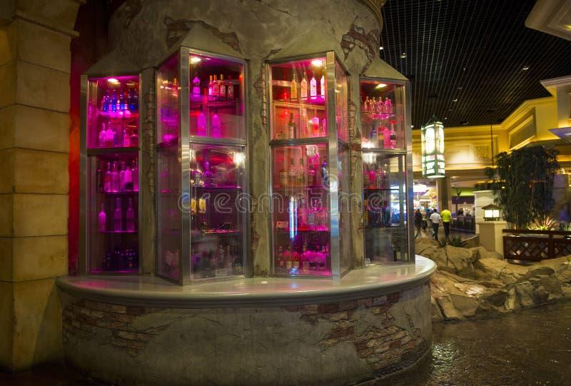 Las Vegas-mandalay fjärd royaltyfri bild