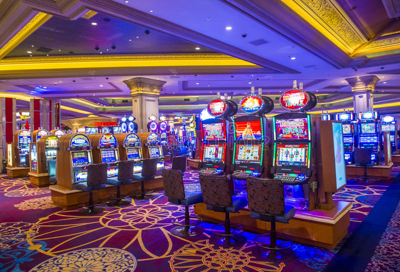 Las Vegas-mandalay fjärd arkivfoto