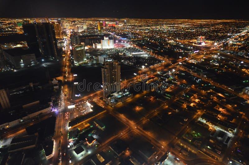 Las Vegas, Las Vegas, metropolitaan gebied, metropool, cityscape, wolkenkrabber stock afbeelding