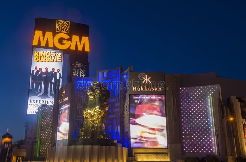 Las Vegas MGM royaltyfria foton