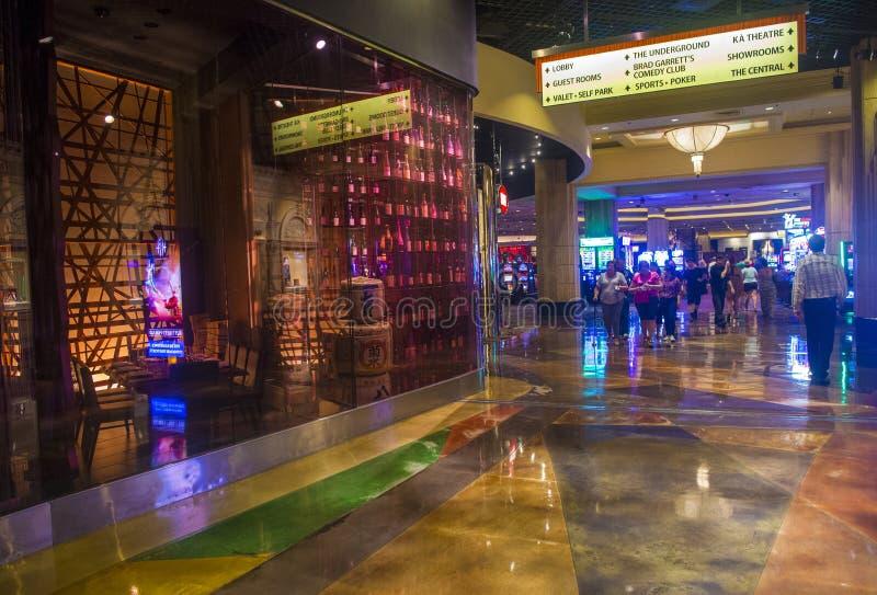 Las Vegas MGM royaltyfri bild