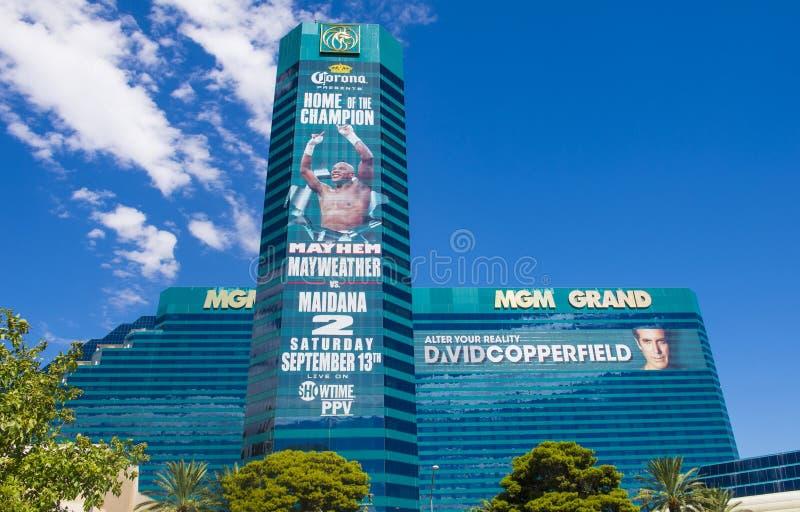 Las Vegas, MGM photo stock