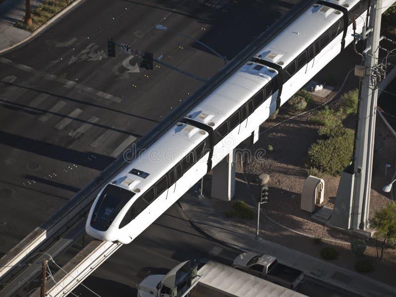 Las Vegas Monorail royalty free stock images