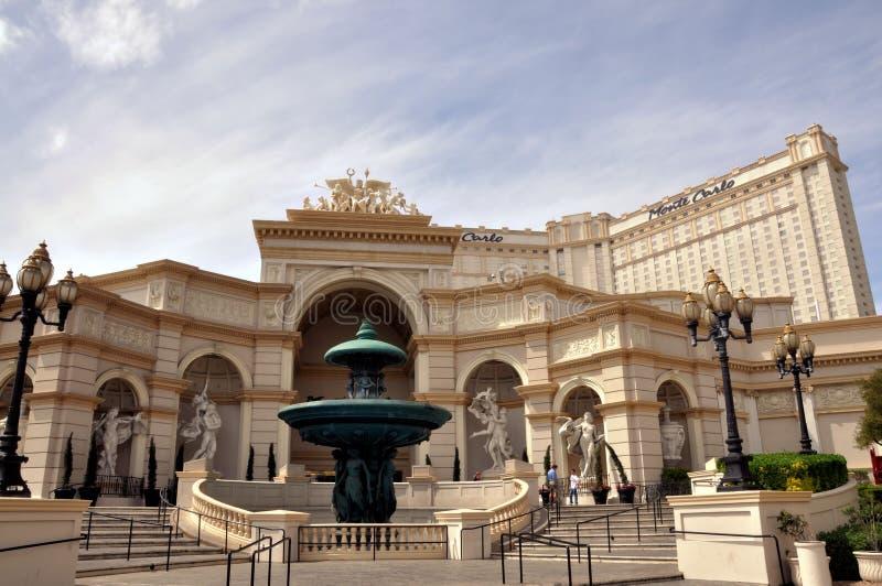 Las Vegas Monte Carlo imágenes de archivo libres de regalías