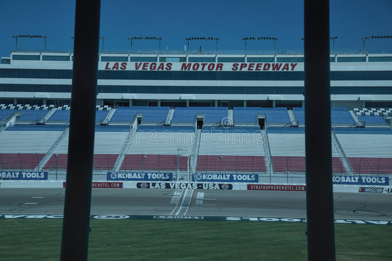 Las Vegas Motor Speedway em Nevada imagens de stock royalty free