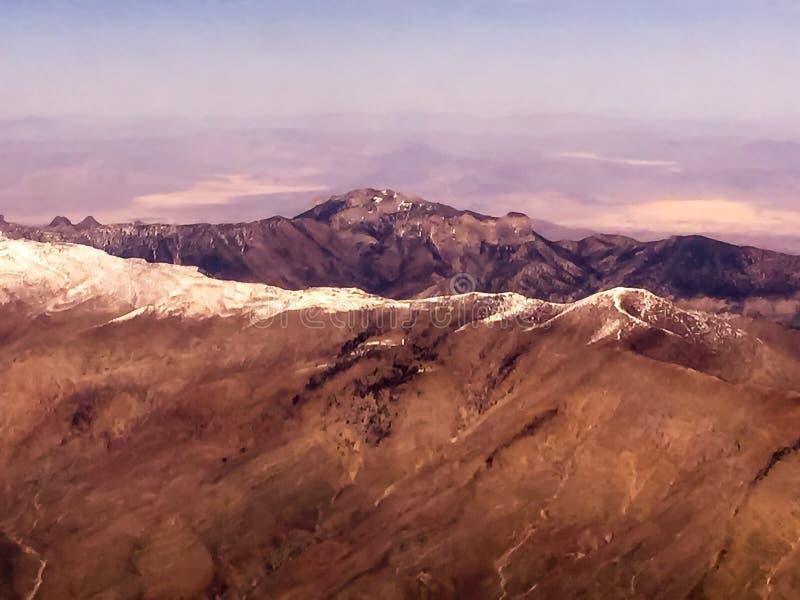 Las Vegas Mountains royalty free stock images