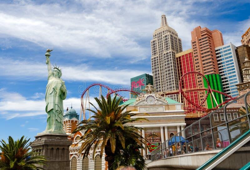 Nueva York - hotel y casino de Nueva York imagen de archivo libre de regalías