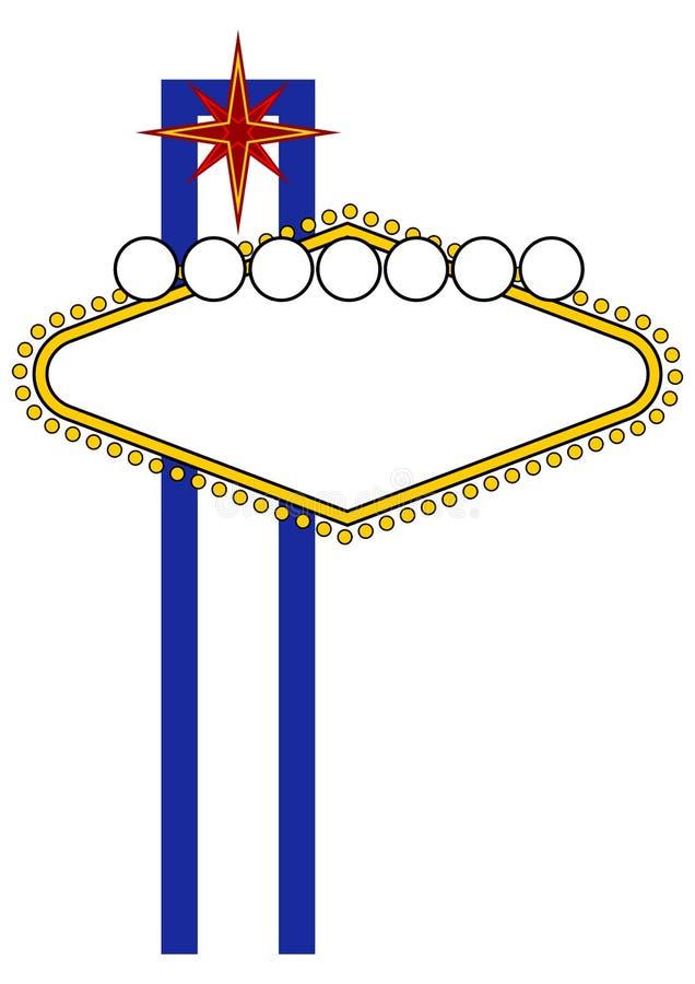 Download Las Vegas neon stock vector. Image of illustration, arrive - 3163954