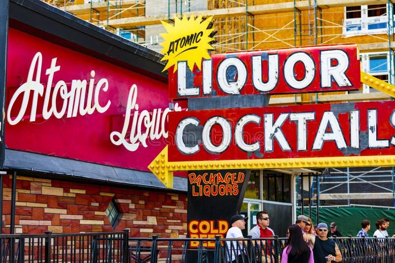 Las Vegas Neon stock photo