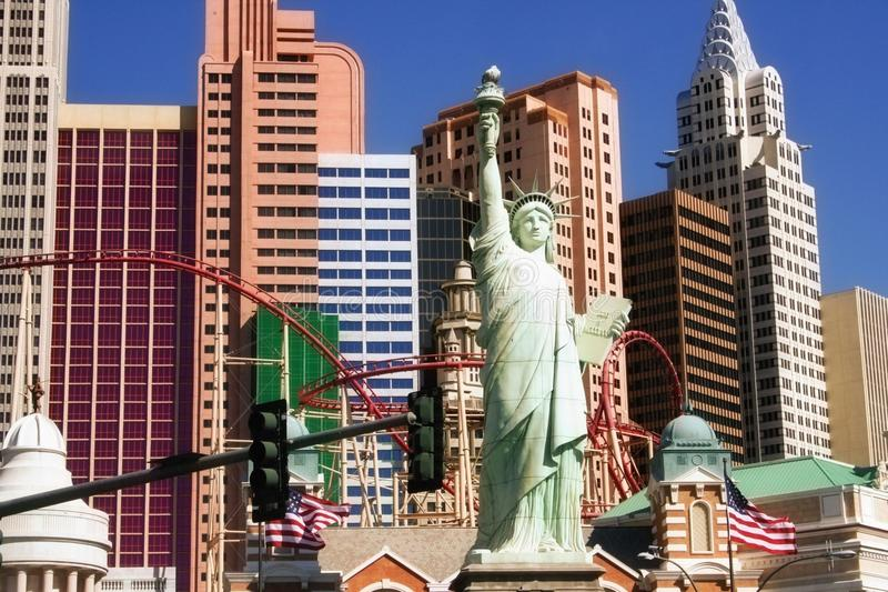 Las Vegas Nevada fotografía de archivo libre de regalías