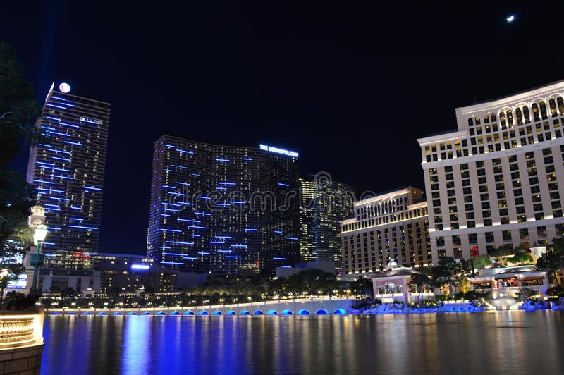 Las Vegas, Nevada, de V.S. - 24 Januari, 2015: Het nieuwe York-Nieuwe Hotel & het Casino van York royalty-vrije stock afbeeldingen