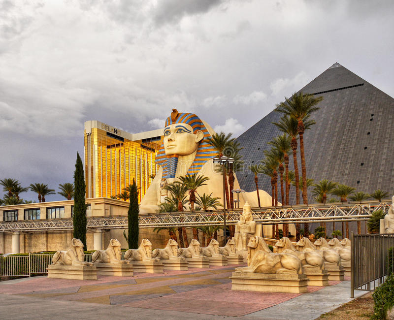 Las Vegas, Nevada - Luxor Hotel and Casino royalty free stock images