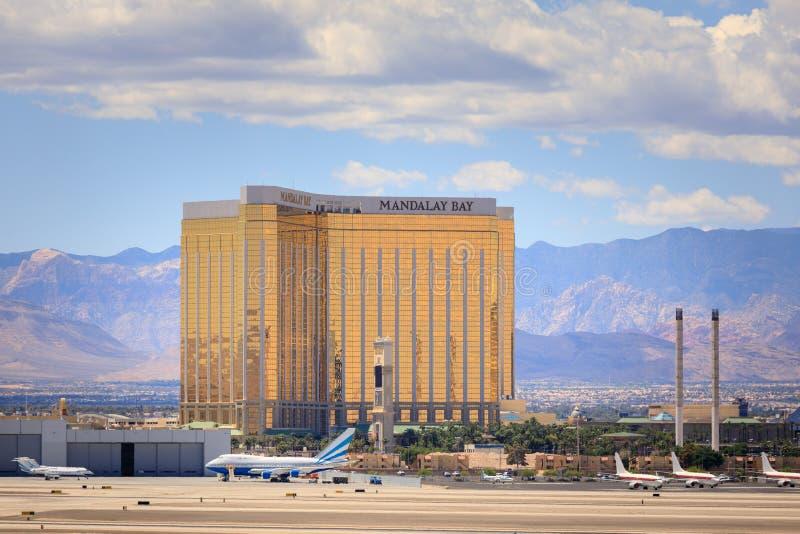 The Mandalay Bay Resort and Casino in Las Vegas stock photos