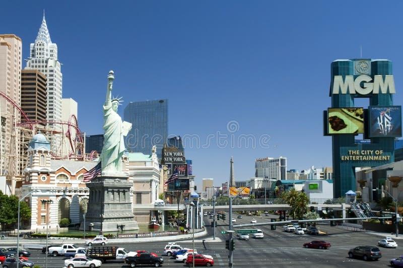 Las Vegas, Nevada - Stad van geluk stock foto