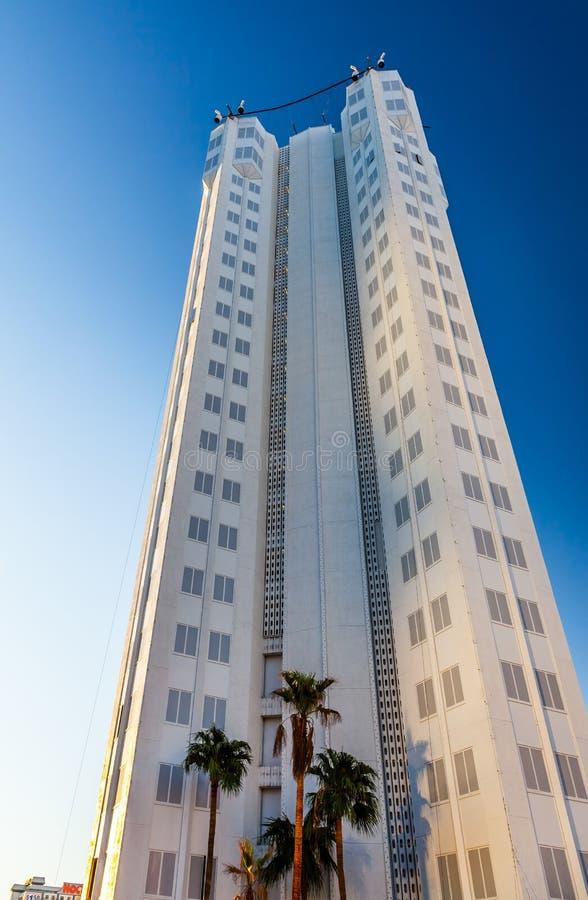 LAS VEGAS, NEVADA/USA - 1 DE AGOSTO: Hotel de Tropicana en Las Vegas fotos de archivo libres de regalías