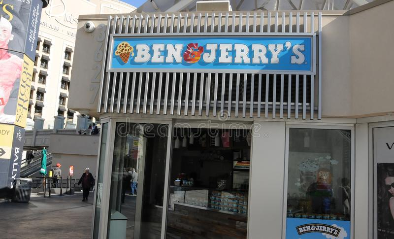 Ben & jerry `s royalty free stock photography