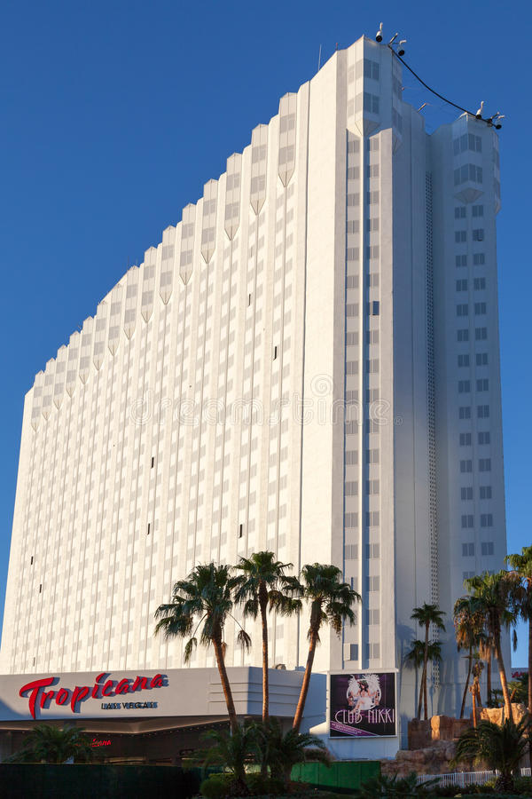 LAS VEGAS, NEVADA/USA - 1ER AOÛT : Hôtel de Tropicana à Las Vegas photos libres de droits