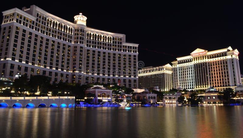 Las Vegas Nevada, USA - Januari 24, 2015: Ny York-ny York hotell & kasino arkivfoton