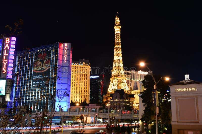 Las Vegas Nevada, USA - Januari 24, 2015: Ny York-ny York hotell & kasino royaltyfri foto