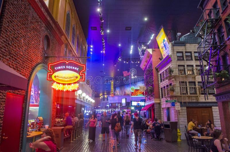 Las Vegas, New York royalty-vrije stock afbeelding