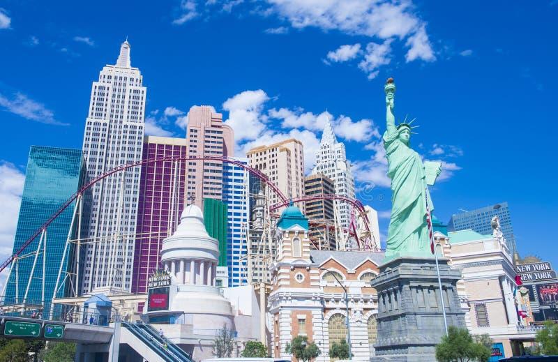 Las Vegas, New York royalty-vrije stock foto