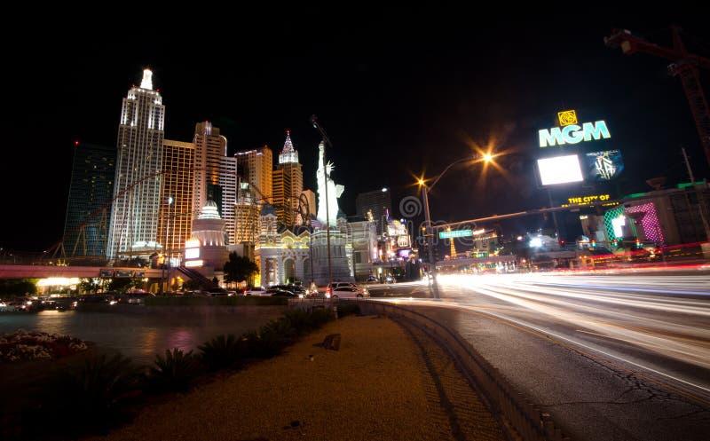 Download Las Vegas at night editorial image. Image of games, palm - 25372185