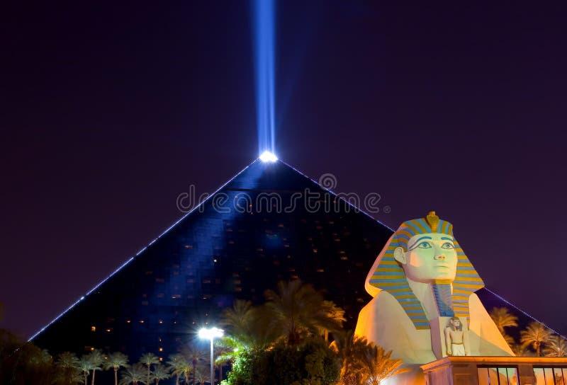 Las Vegas at night stock photos