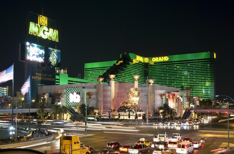 Las Vegas night royalty free stock photo