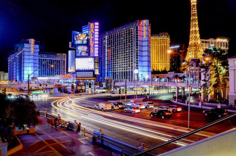Las Vegas Nightlife royalty free stock images