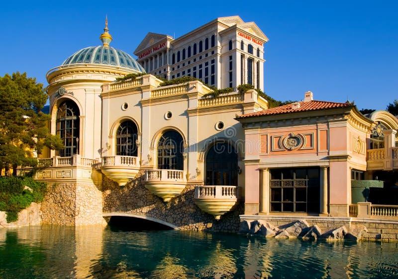 Las Vegas no por do sol imagem de stock