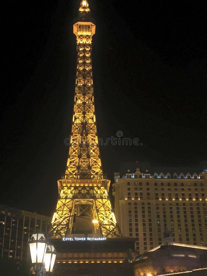 Las Vegas noce fotografia stock
