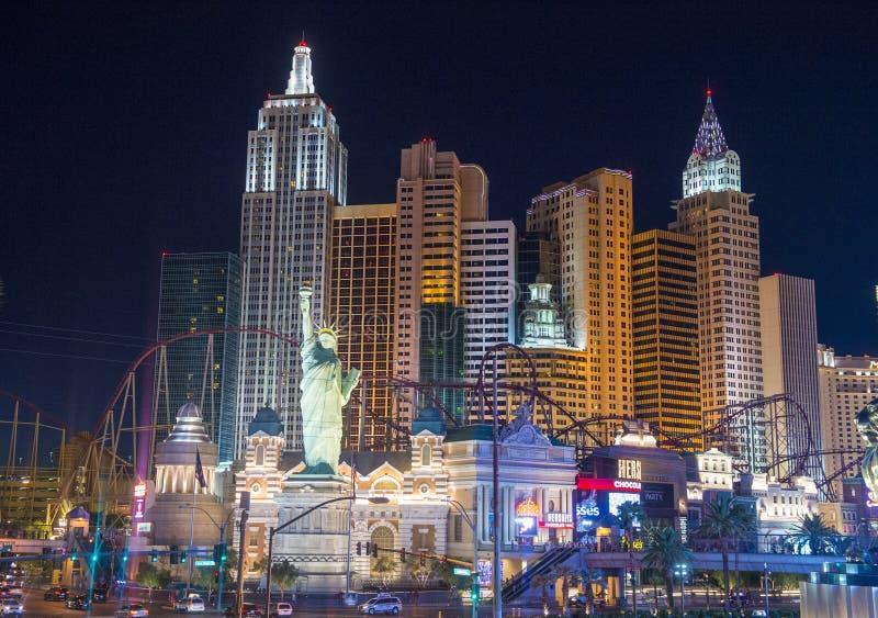 Las Vegas, Nowy Jork obraz stock