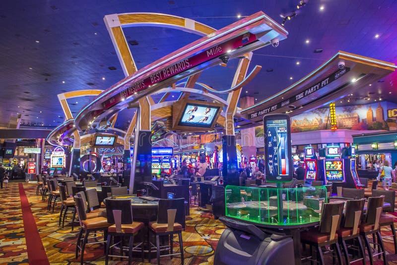 Las Vegas Nowy Jork hotel obraz stock