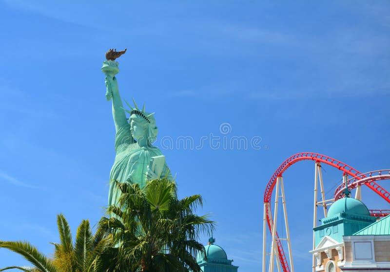 Las Vegas, Nowy Jork statua wolności fotografia royalty free