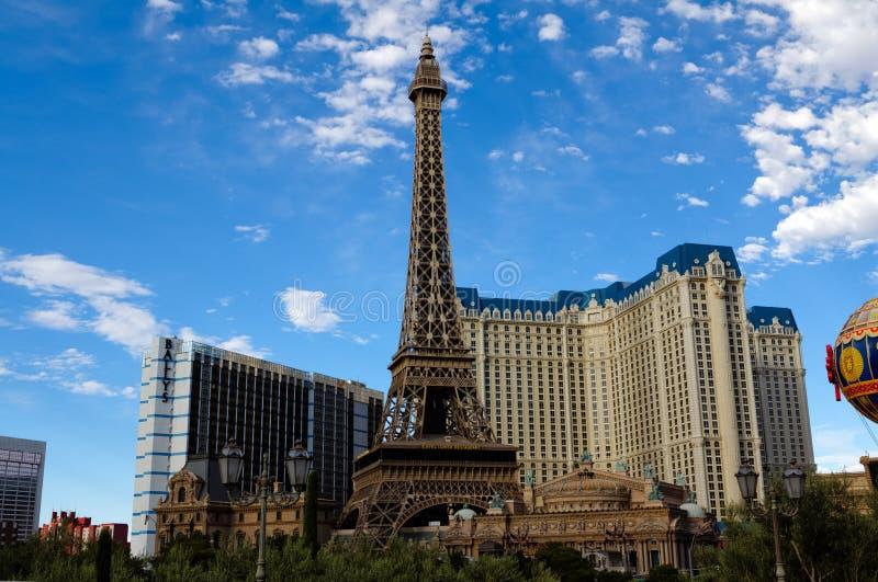 Paris Las Vegas hotel and casino stock images
