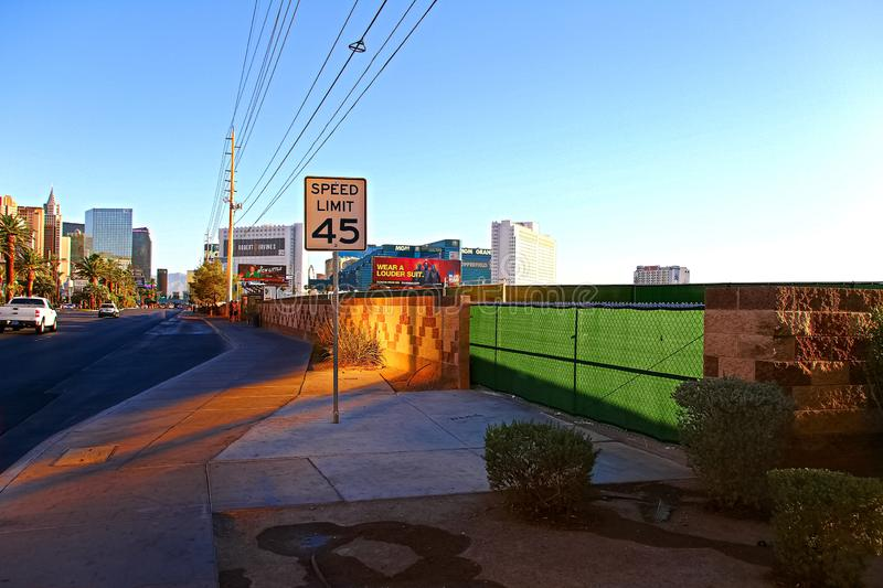 Las Vegas village. LAS VEGAS, NV - SEP 15,2018: Now in Las Vegas village one year after the Las Vegas shooting incident. Here Route 91 Harvest Country Music stock photos