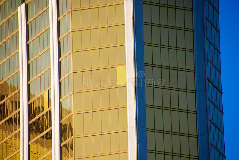 Mandalay Bay Casino and Resort Hotel after the shoot incident. LAS VEGAS - OCT 07 ,2017 : Mandalay Bay Casino and Resort Hotel after the shoot incident on the stock photo