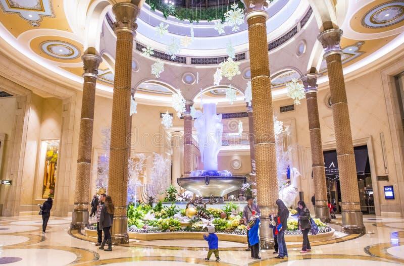 Las Vegas - Palazzo-binnenland royalty-vrije stock afbeelding