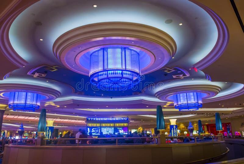 Las Vegas - Palazzo inre fotografering för bildbyråer
