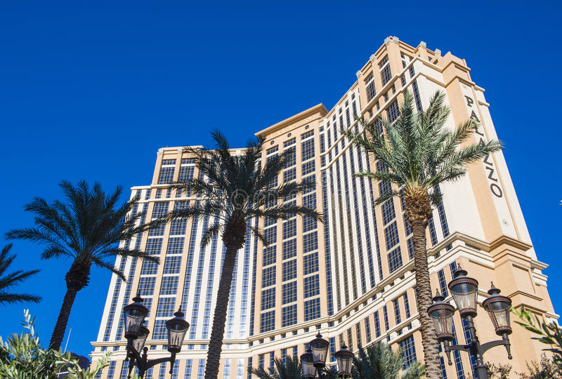 Las Vegas , Palazzo royalty free stock photos