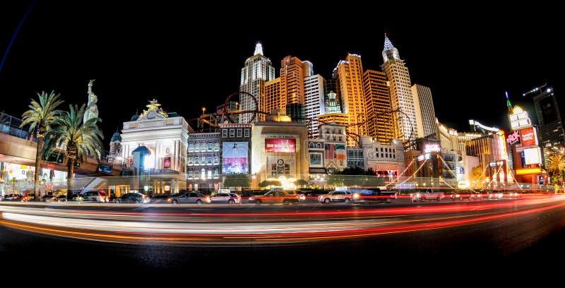 Las Vegas panor?mico imagenes de archivo