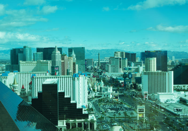Download Las Vegas panorama editorial stock photo. Image of desert - 19008678