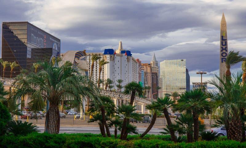 Las Vegas par jour photo libre de droits