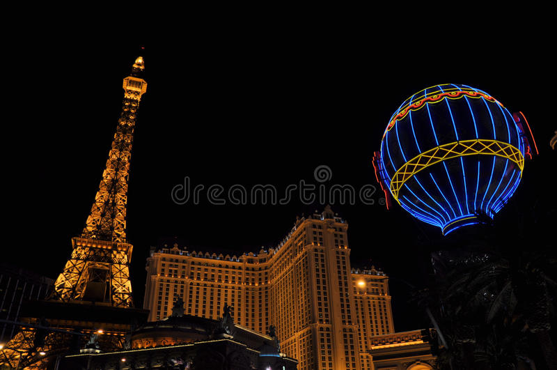 Las Vegas Paris royalty free stock images