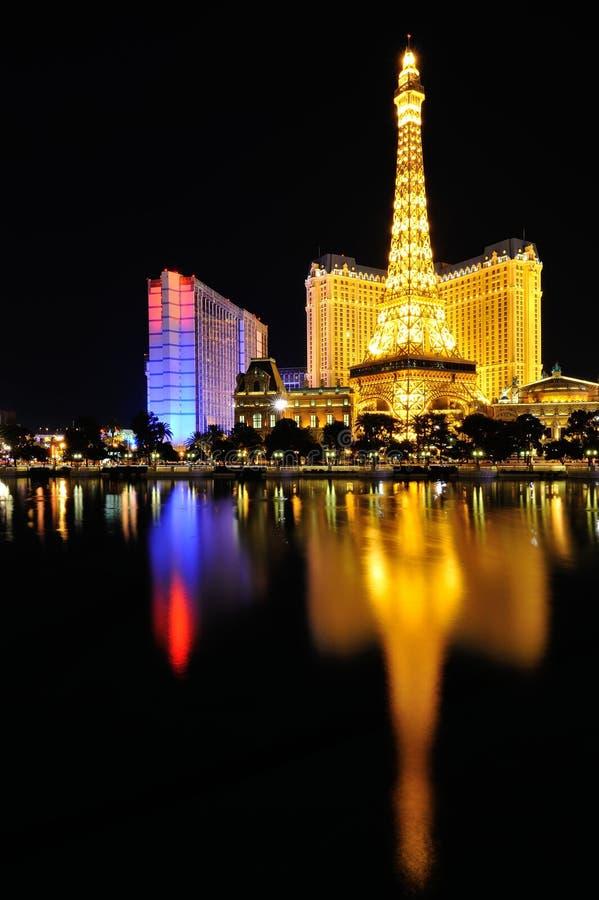 Las Vegas Paris hotell arkivbilder