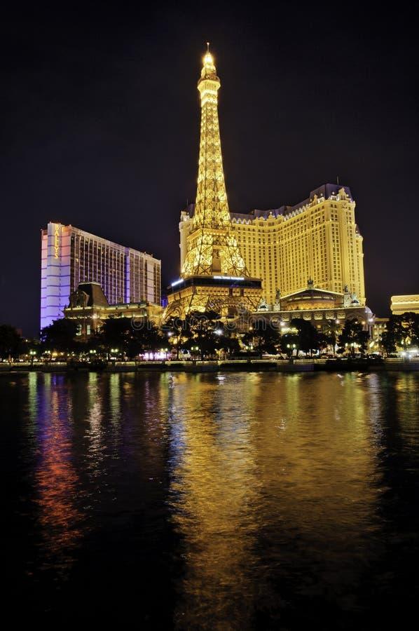 Las Vegas Paryż zdjęcia stock