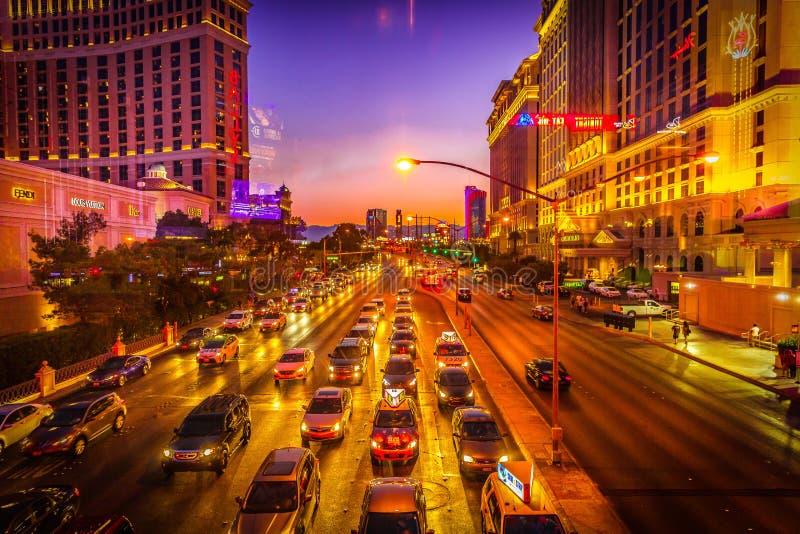 las Vegas pas obraz royalty free