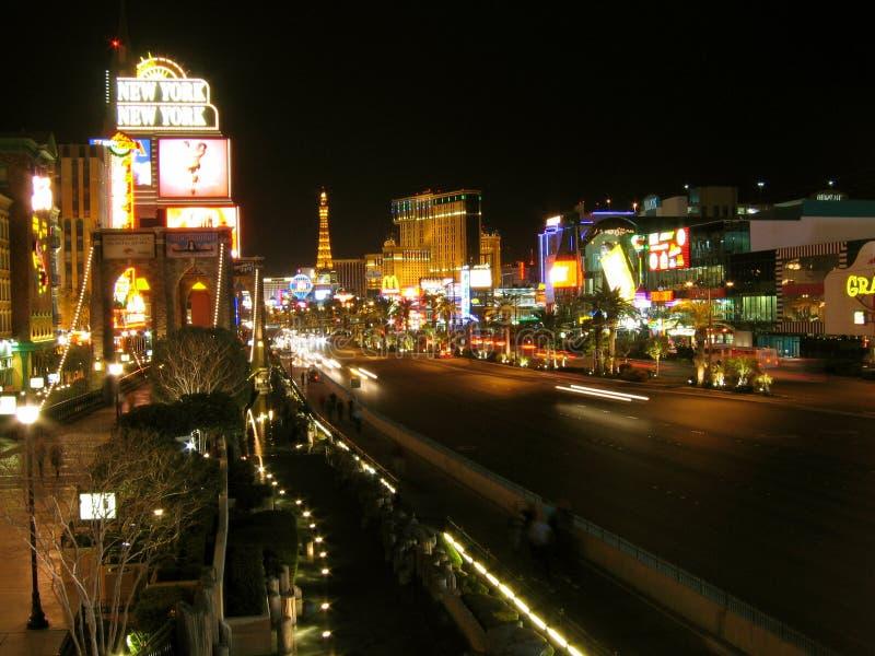 Las Vegas pasek, Las Vegas, Nevada, usa obrazy royalty free