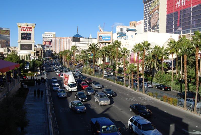 Las Vegas pasek, McCarran lotnisko międzynarodowe, samochód, obszar wielkomiejski, miasto, obszar miejski obrazy stock