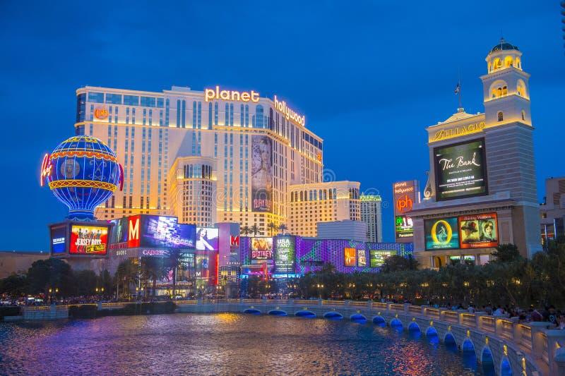 Las Vegas, planeta Hollywood fotografía de archivo
